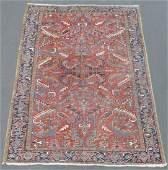 Heriz Persian carpet Iran Old around 1940