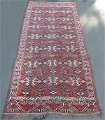Jomud tribal rug. Turkmenistan. Antique, around 1890.