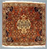 Bijar Persian carpet Iran Fine knotting Old