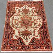 Mishan Malayer Persian rug. Iran. Antique, around 1880.