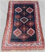 Varamin Shah-Savan Persian carpet. Iran. Antique, circa