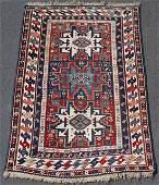 Shirvan Lesghi rug. Caucasus. Antique, approximately