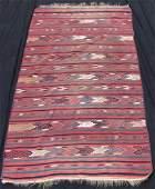 Stripes  Turkmen kilim Turkmenistan Antique 120