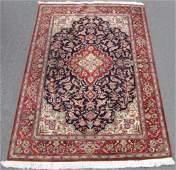 Qom silk rug Persian carpet Iran Very fine weave