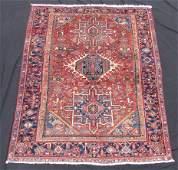 Karadja Persian rug. Iran. Antique, circa 80 - 120
