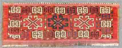 Ersari Germesh. Tribal carpet. Turkmenistan. Antique.