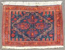 Afshar Poschti Persian rug Iran Antique About 100