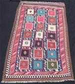 Qashqai Kilim Persian carpet Field design Approx