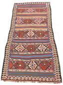 Shah- Savan Stripe Kilim. Caucasus. Antique, approx.