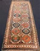 Moghan Kazak carpet. Caucasus. Antique, around 120 -