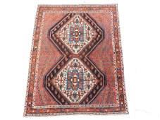 Afshar Persian carpet Iran Antique around 90140