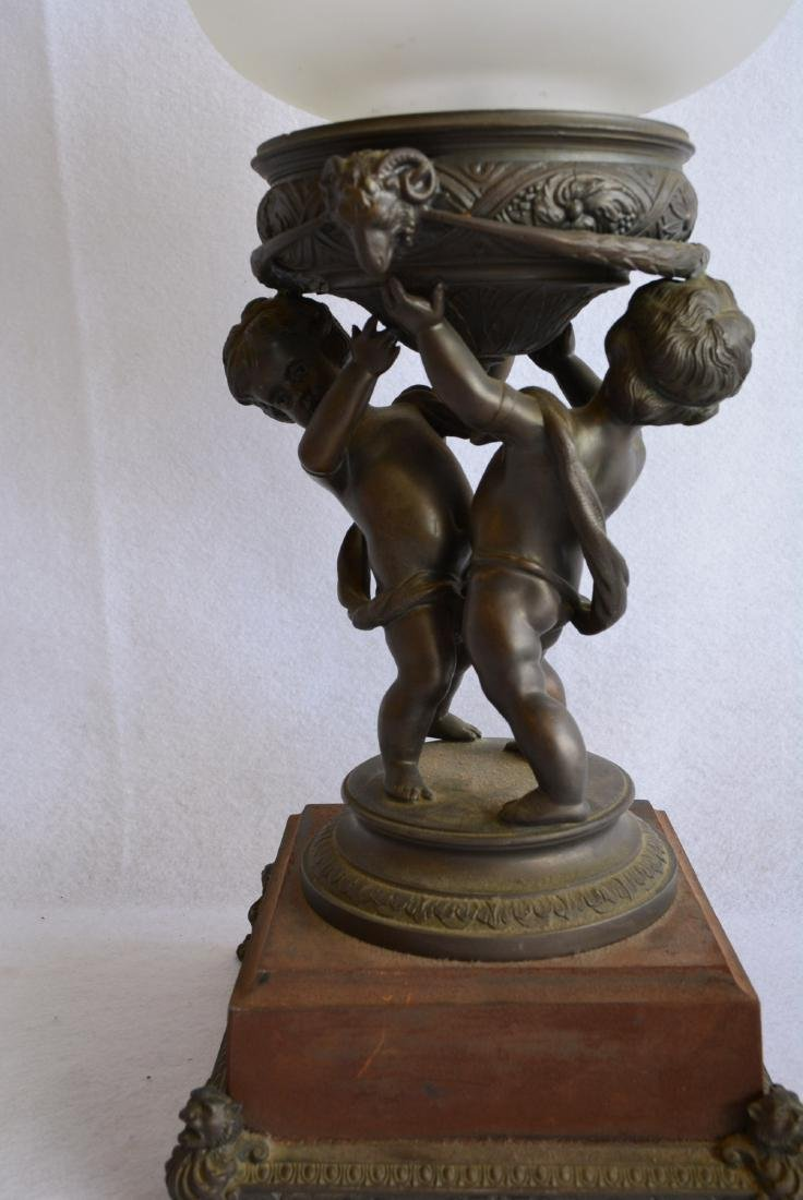 Two decorative collectibles including a small bronze 19 - 5