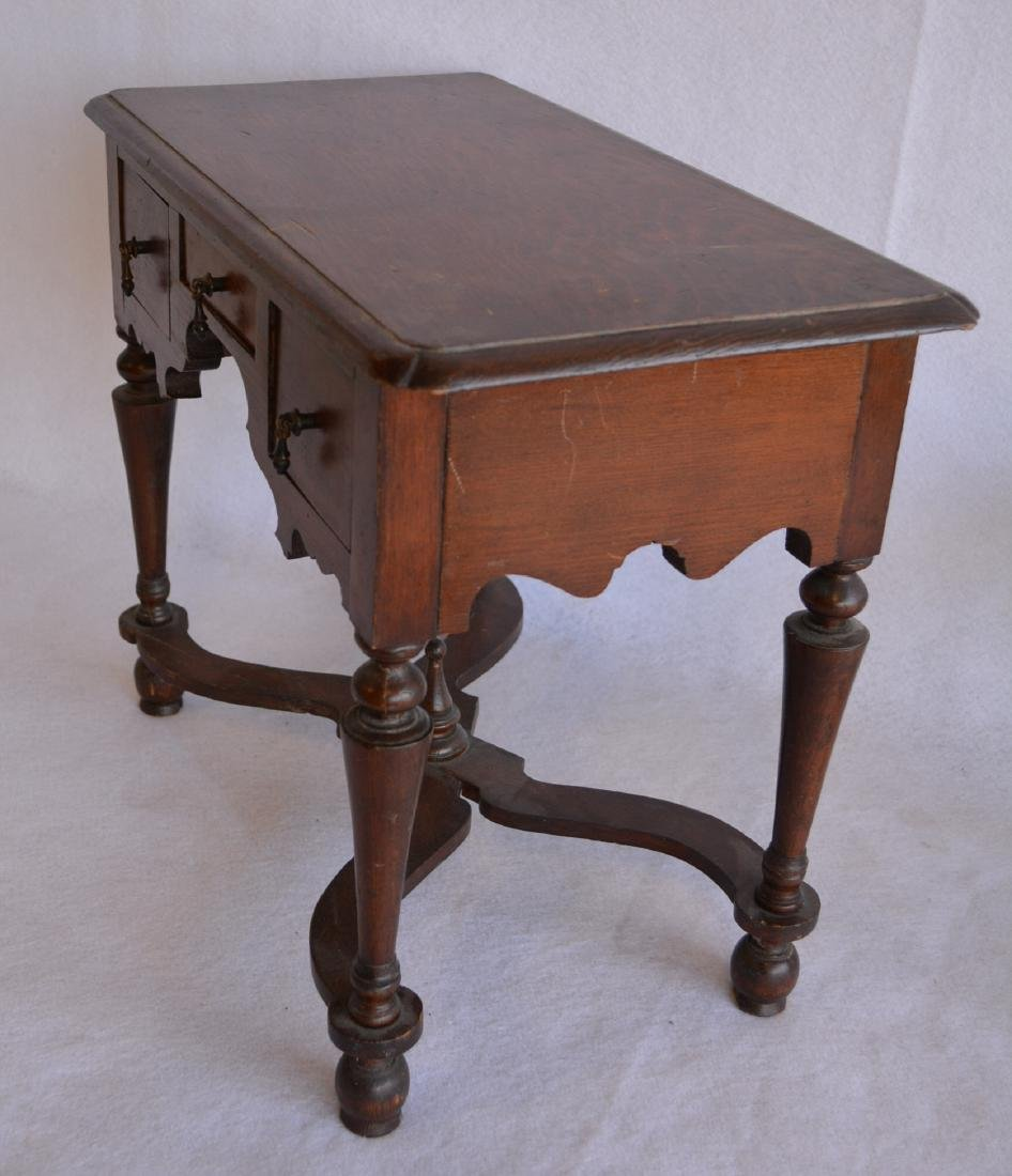Two pieces of salesman sample furniture including - 4