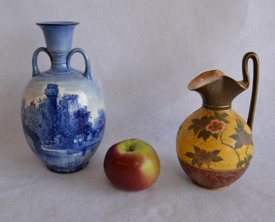 Two Doulton pieces including a hand painted Doulton - 3