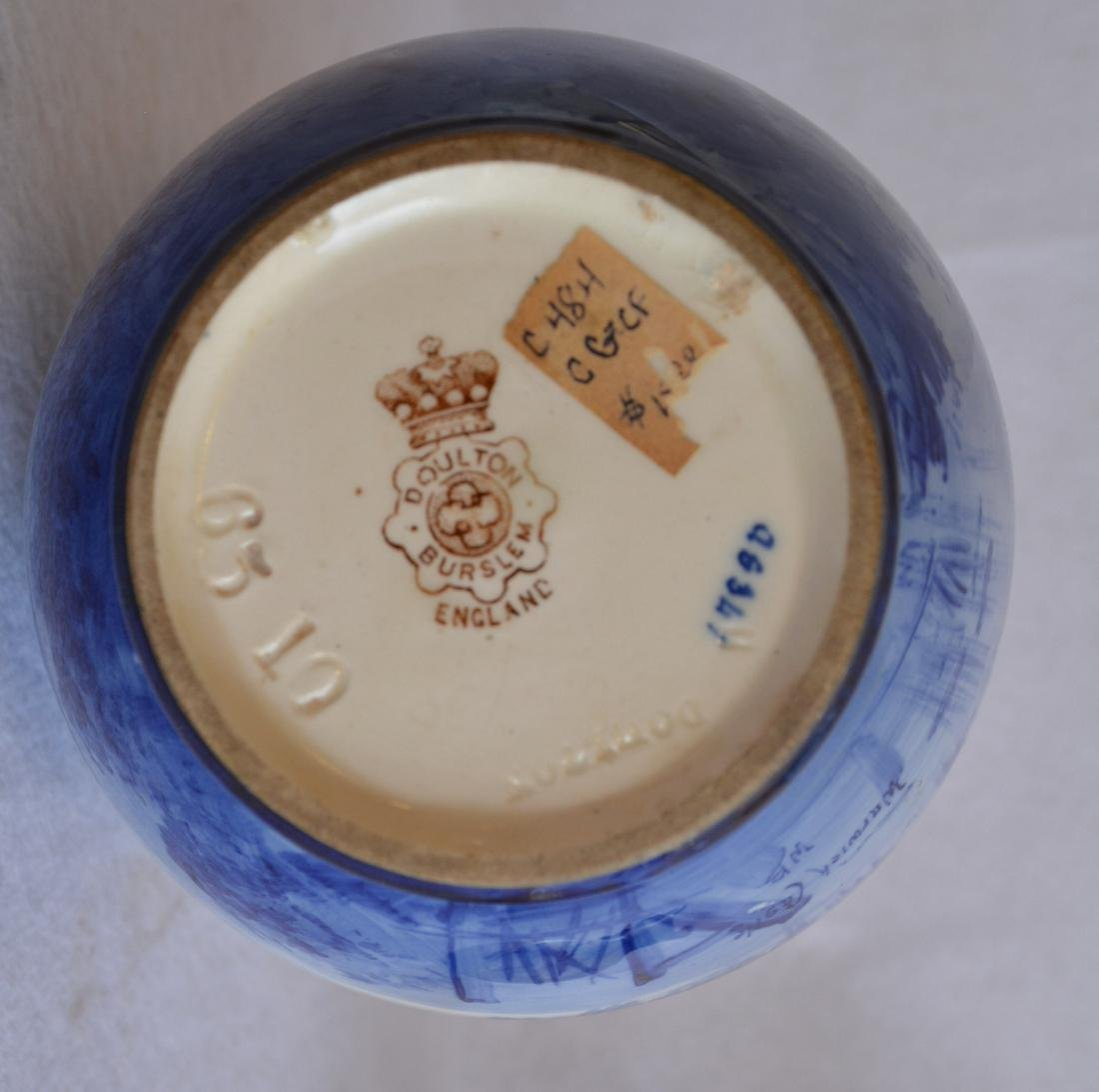 Two Doulton pieces including a hand painted Doulton - 5