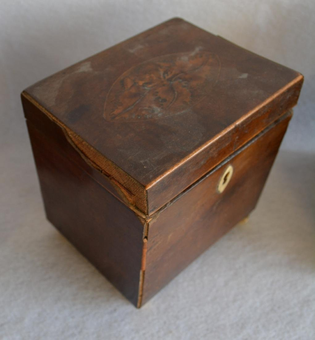 Grouping of 3 decorative items: 1) Liquor set hidden - 3