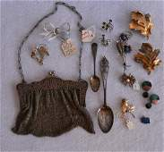 Grouping of mostly lady's sterling decorative objects