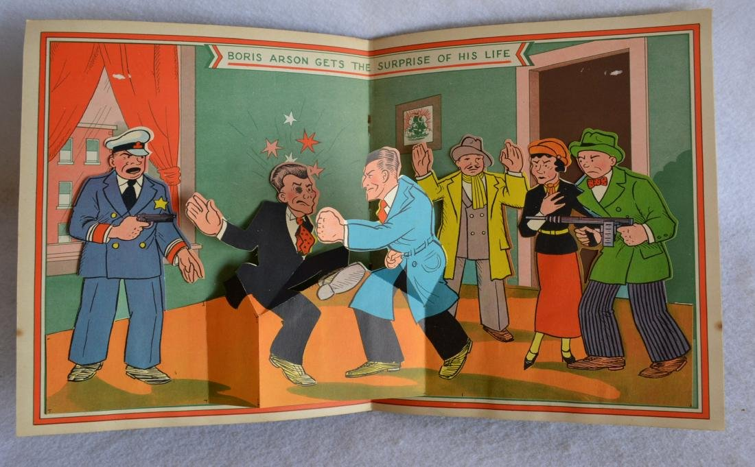 Two child's books including The Pop-Up Dick Tracy - - 2