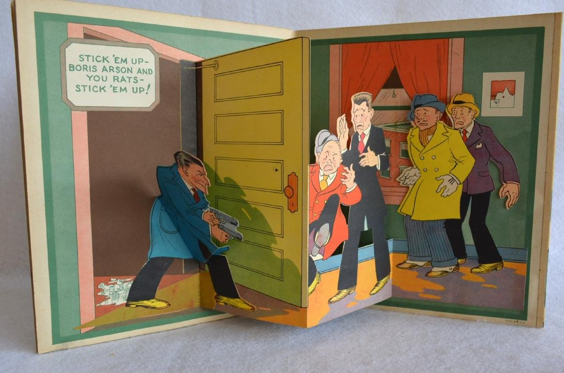 Two child's books including The Pop-Up Dick Tracy - - 4
