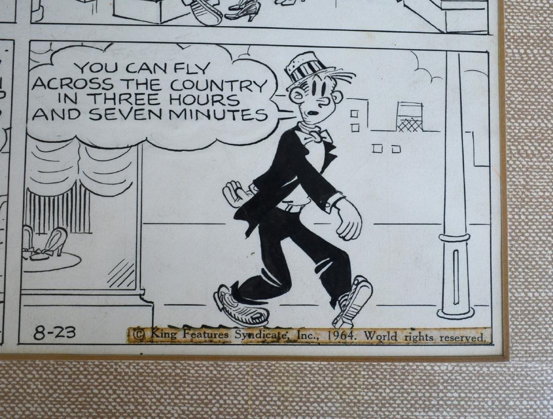 Chic Young (NY/Missouri 1901-1973). Original comic art - 2