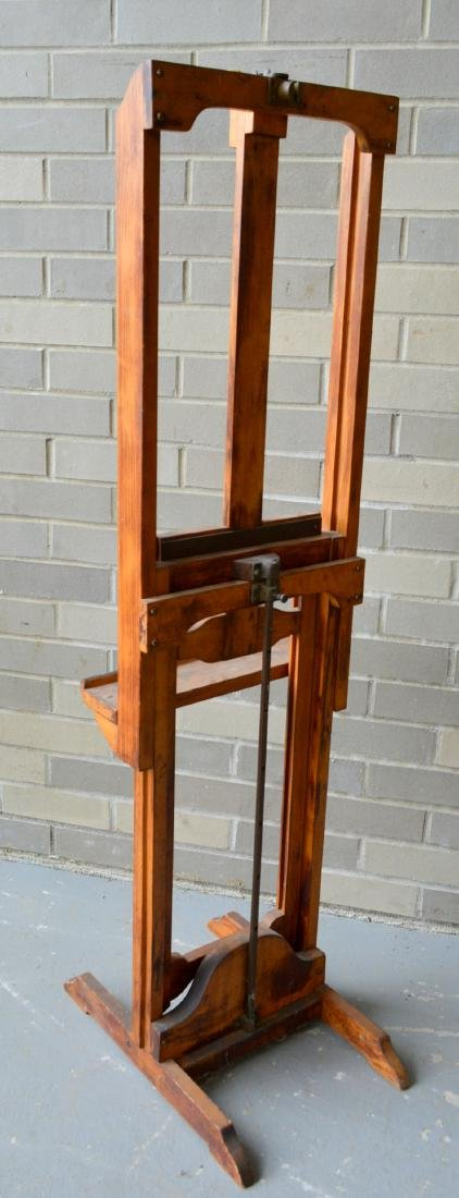 Artist easel with colorful palette, reportedly - 7