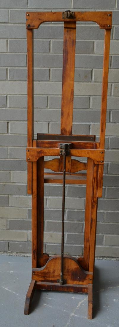 Artist easel with colorful palette, reportedly - 8