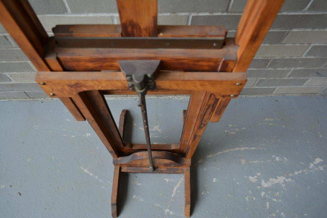 Artist easel with colorful palette, reportedly - 9