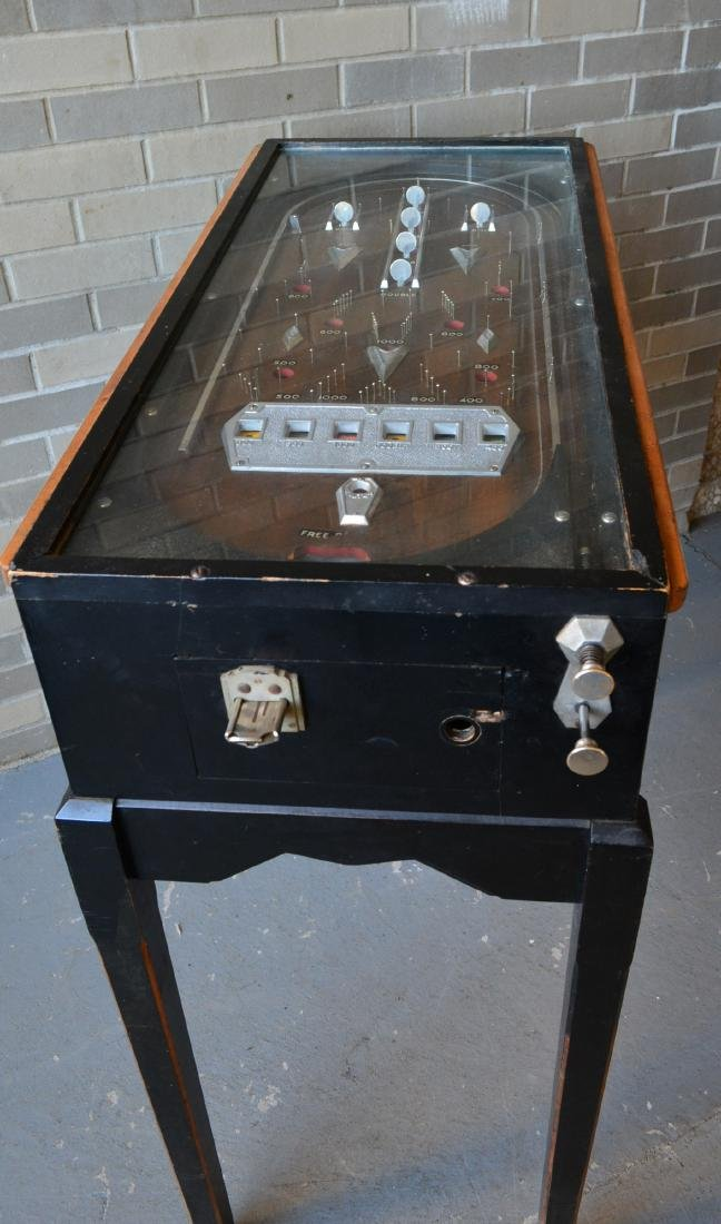 Rare floor standing pinball game, non-electric, in - 3