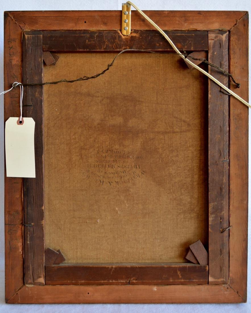 """O/C Portrait Edwardian lady – 16.25"""" x 20"""". Note - 3"""