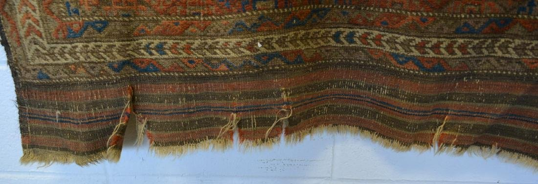 Oriental scatter rug, hand knotted – good condition – - 3