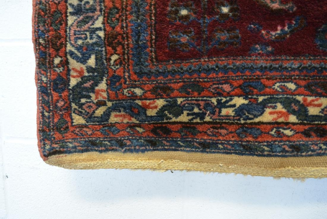 Good oriental scatter rug, hand knotted – early 20th - 2