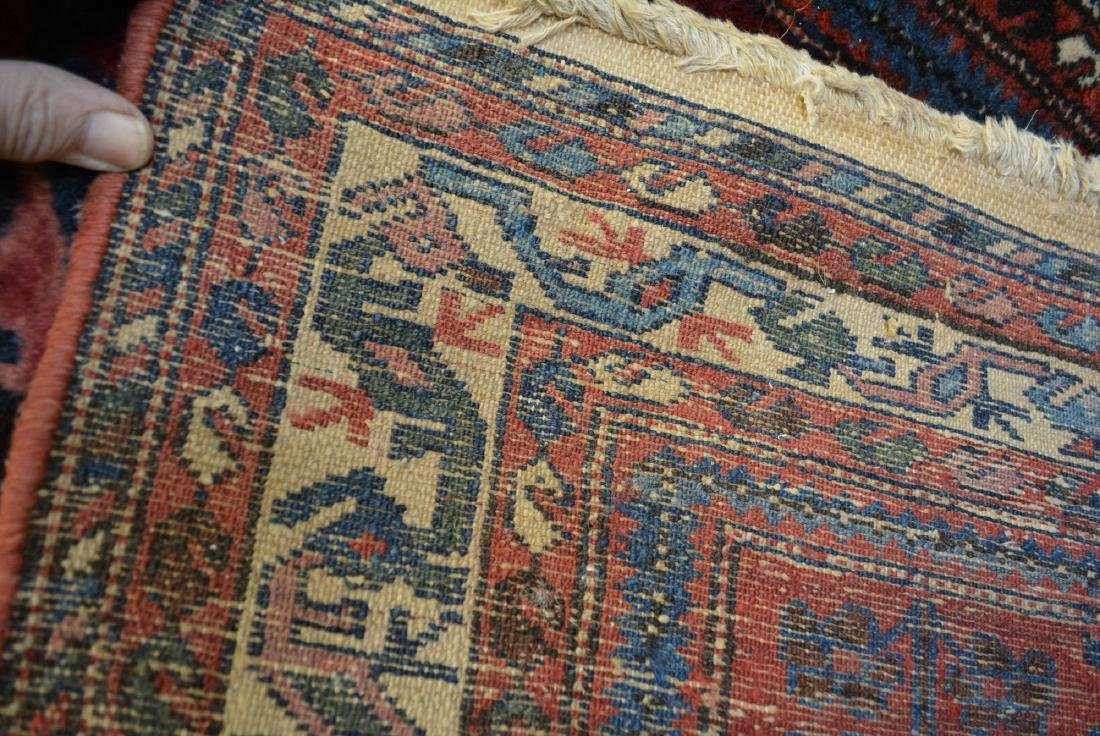 Good oriental scatter rug, hand knotted – early 20th - 4