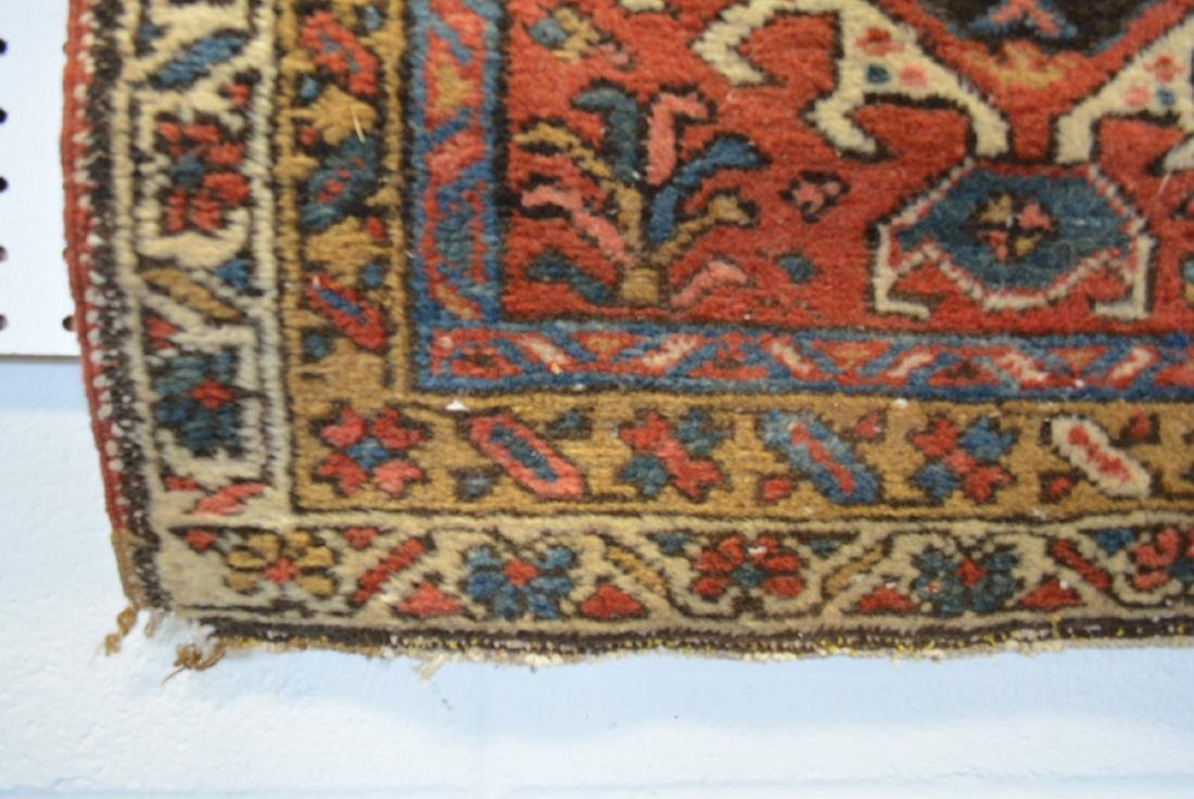 Two oriental scatter rugs, hand knotted, in good - 3