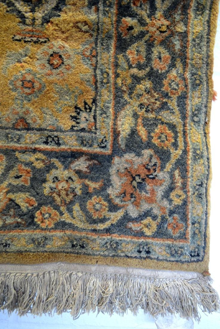 Two oriental scatter rugs, hand knotted, in good - 6