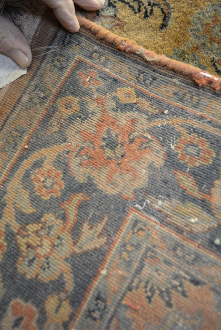 Two oriental scatter rugs, hand knotted, in good - 7