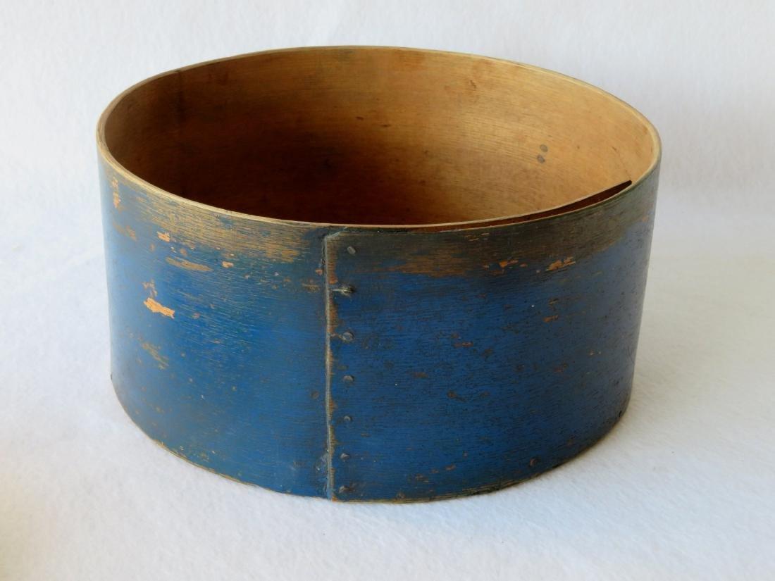 Pantry box in original blue paint, 19th century. - 4