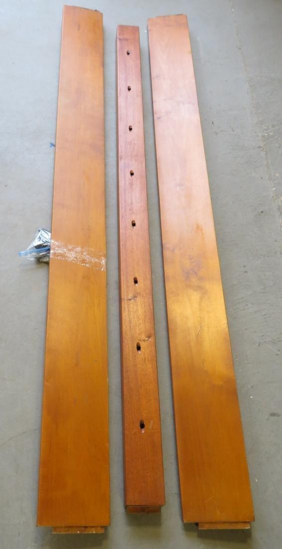 Maple king size rope bed by Leonards, Seekonk Mass. - 5