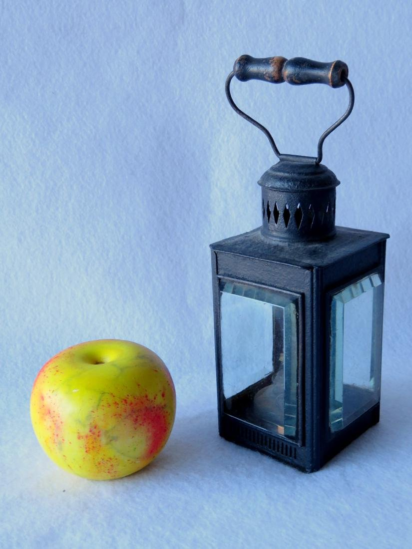The best tin skating lantern with bail handle and