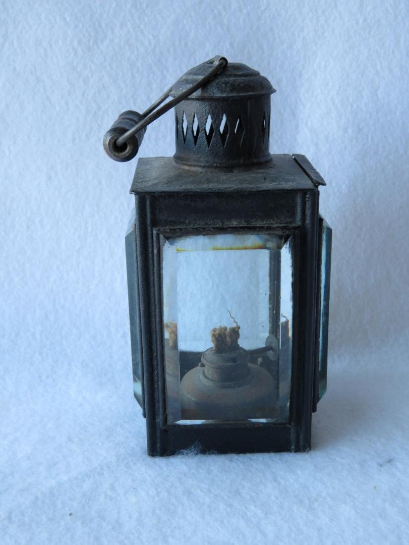 The best tin skating lantern with bail handle and - 2