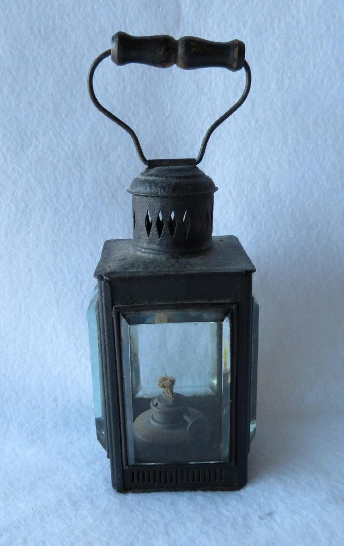 The best tin skating lantern with bail handle and - 6