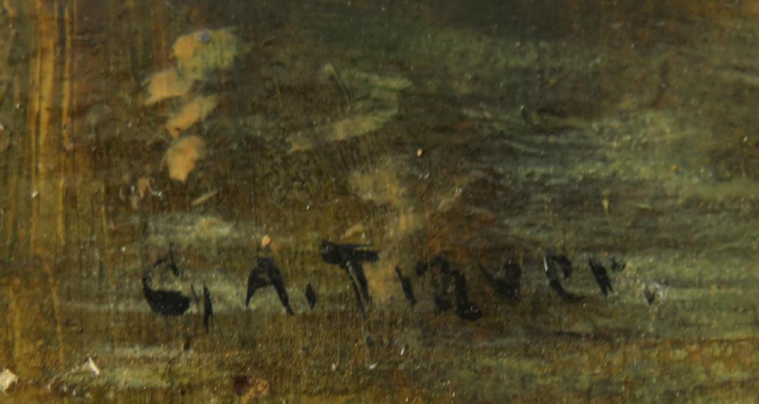 George A. Traver NY 1864-1928. O/B Impressionist - 2