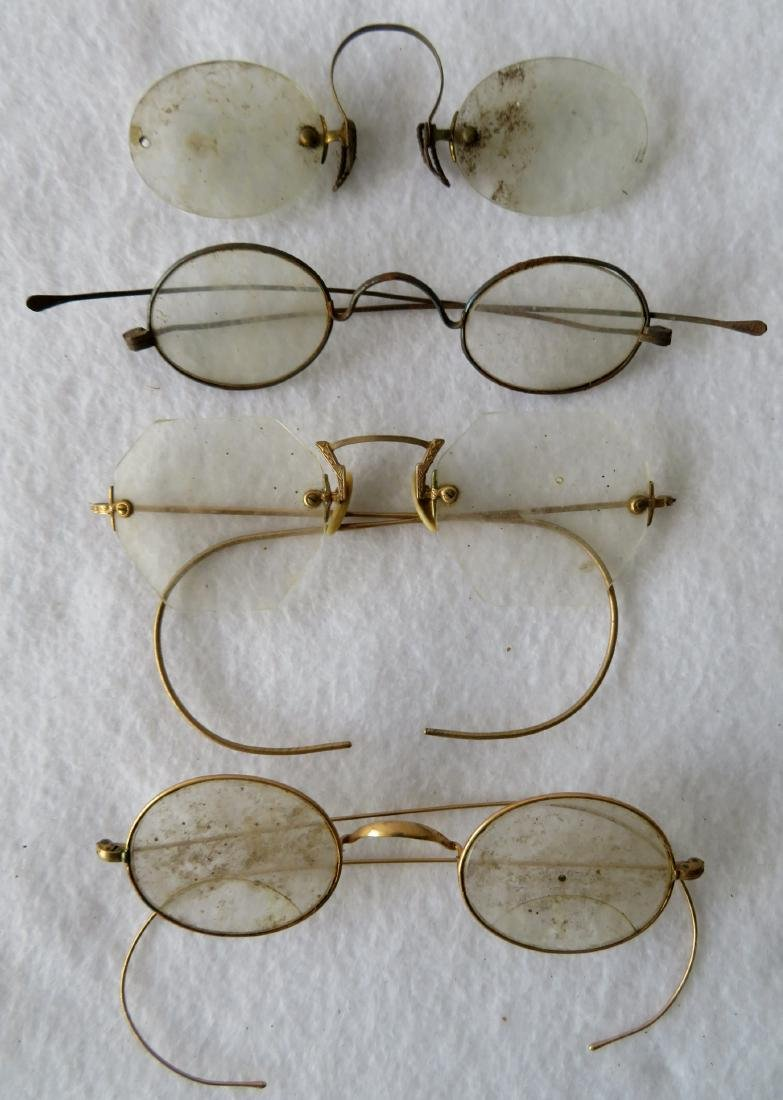 Grouping of 19 pairs of Civil War era and later eye - 2