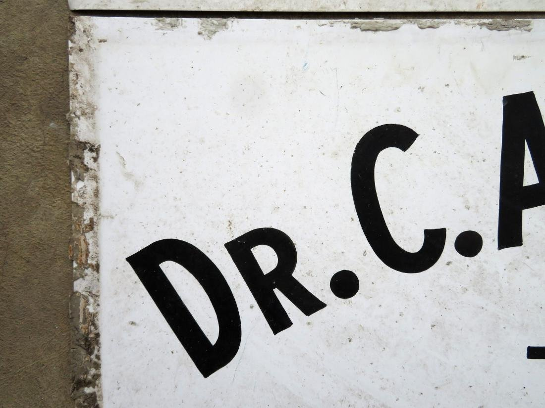 "Three signs for ""Dr. C.A. Bowman - Optometrist"", - 6"