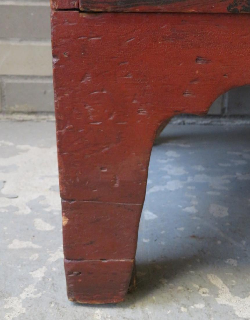 Hepplewhite grain painted chest of drawers, New - 7