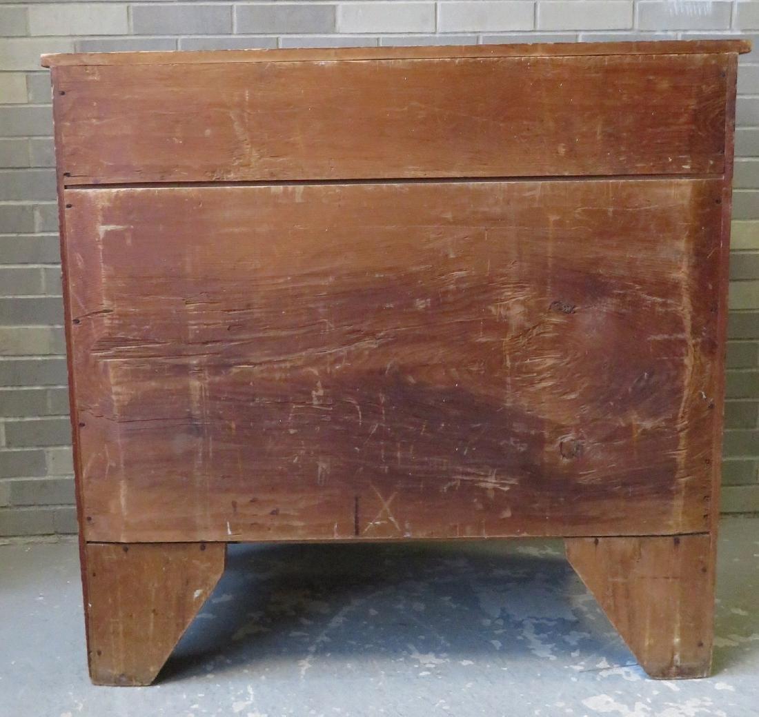 Hepplewhite grain painted chest of drawers, New - 8
