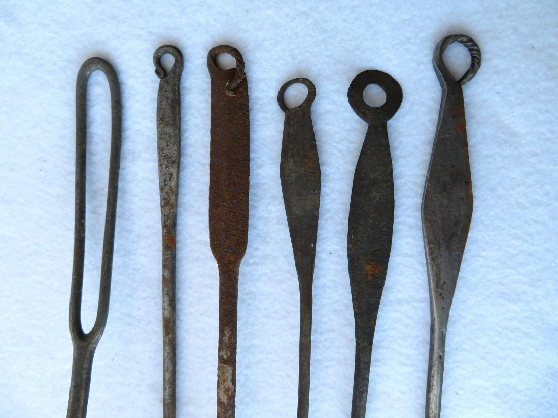 Grouping of Hudson Valley Dutch hand forged iron - 4