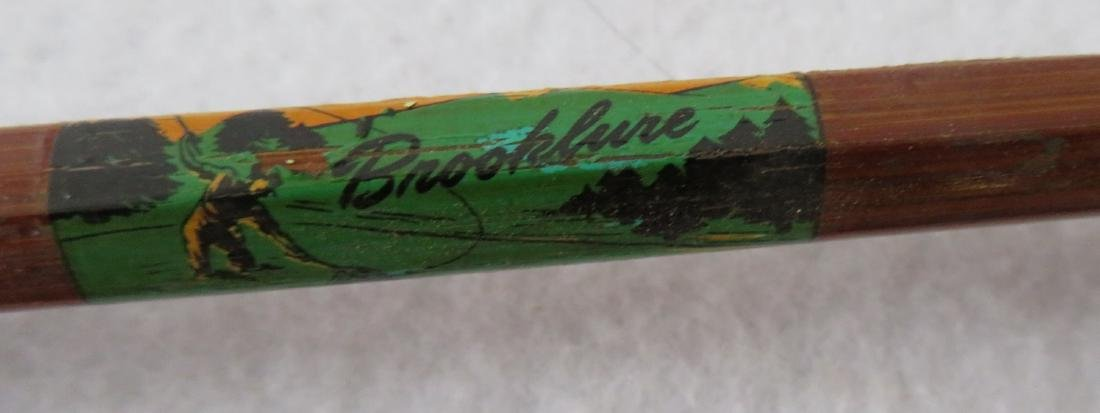 Three split bamboo fly rods: 1) Signed Sport King M/33 - 7