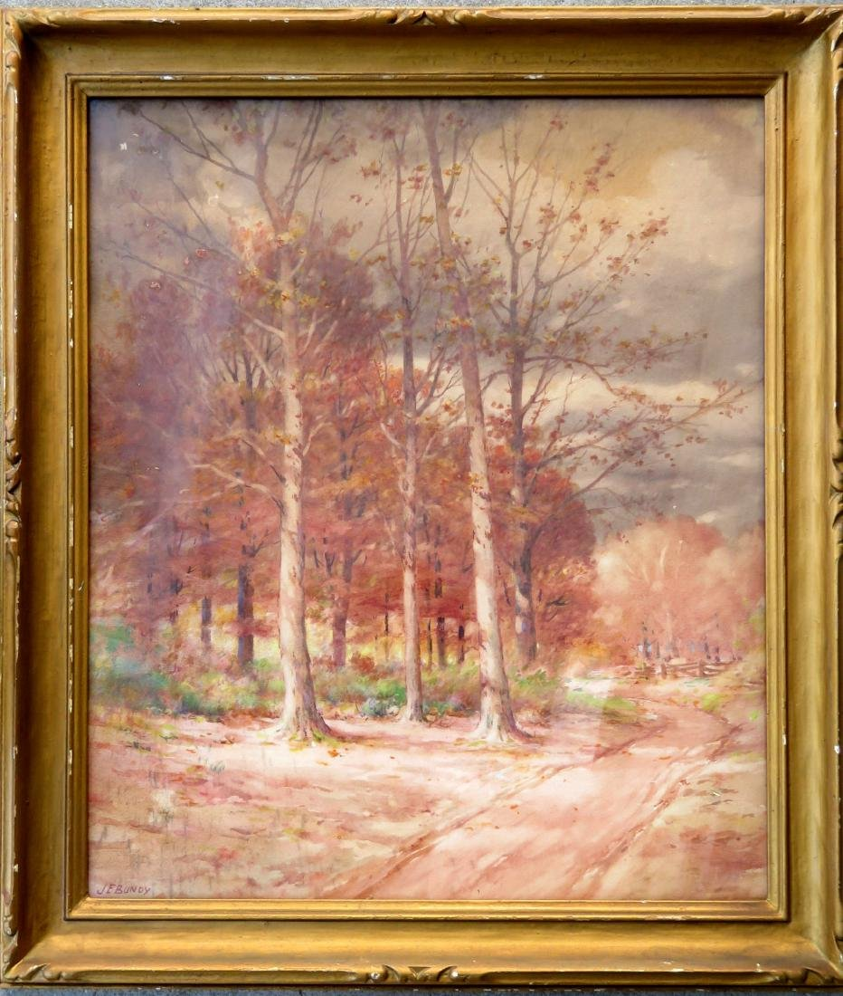 John Elwood Bundy - Indiana, NC, Ohio (1853-1933). W/C