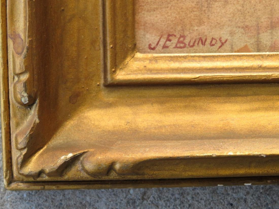 John Elwood Bundy - Indiana, NC, Ohio (1853-1933). W/C - 4