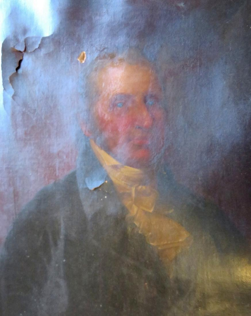 O/C Portrait of a gentleman in original lemon gold - 2
